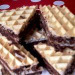 Napolitane umplute cu ciocolata de casa