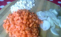 ciorba de fasole cu ciolan afumat
