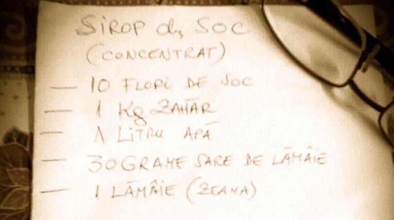 Sirop de soc (concentrat)