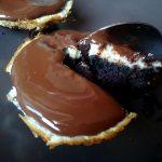 Cheesecake cu ciocolata si menta