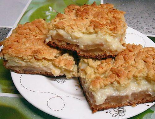 VIDEO: Szarlotka (prajitura poloneza cu mere)